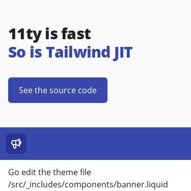 Screenshot of https://11tytailwindjit.netlify.app/