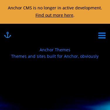 Screenshot of https://anchorthemes.com/