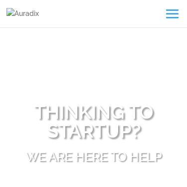 Screenshot of https://auradix.com/