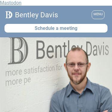 Screenshot of https://bentleydavis.com/