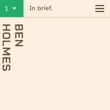 Screenshot of https://bholmes.dev