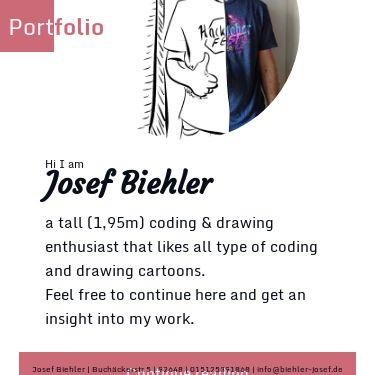 Screenshot of https://biehler-josef.de/