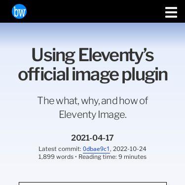Screenshot of https://brycewray.com/posts/2021/04/using-eleventys-official-image-plugin/