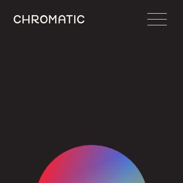 Screenshot of https://chromatic.live/