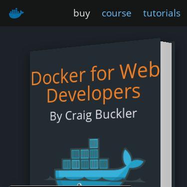 Screenshot of https://dockerwebdev.com/
