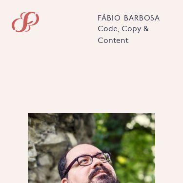 Screenshot of https://fabiomrbarbosa.com