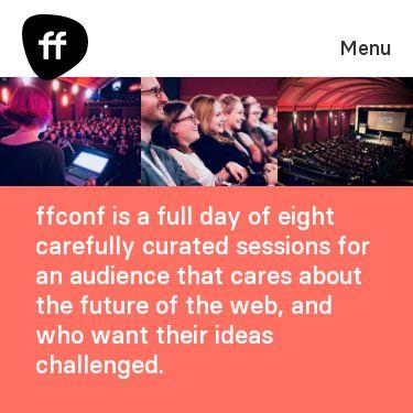 Screenshot of https://ffconf.org/