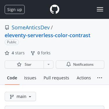 Screenshot of https://github.com/SomeAnticsDev/eleventy-serverless-color-contrast