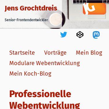 Screenshot of https://grochtdreis.de/