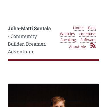 Screenshot of https://hamatti.org