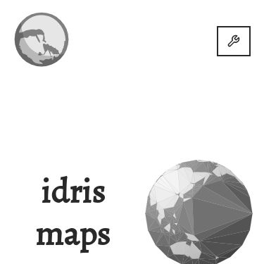 Screenshot of https://idris-maps.com/