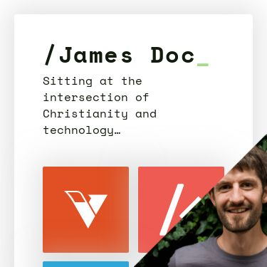 Screenshot of https://jamesdoc.com/