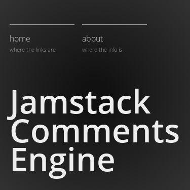 Screenshot of https://jamstack-comments.netlify.app/
