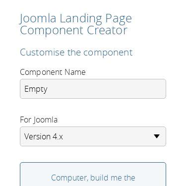 Screenshot of https://joomla-spa.netlify.app