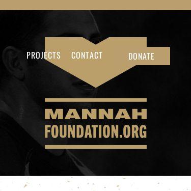 Screenshot of https://mannahfoundation.org/