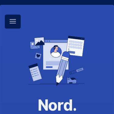 Screenshot of https://nordhealth.design/