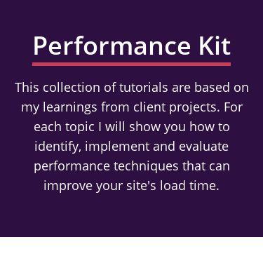 Screenshot of https://performance-kit.netlify.app/