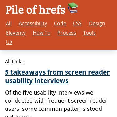 Screenshot of https://pile-of-hrefs.com/