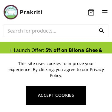 Screenshot of https://prakriti.care/