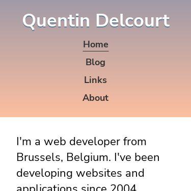 Screenshot of https://quentin.delcourt.be/