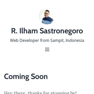 Screenshot of https://radenpioneer.netlify.app/