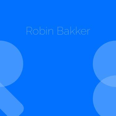 Screenshot of https://robinbakker.nl/