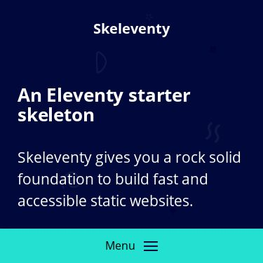 Screenshot of https://skeleventy.netlify.app/