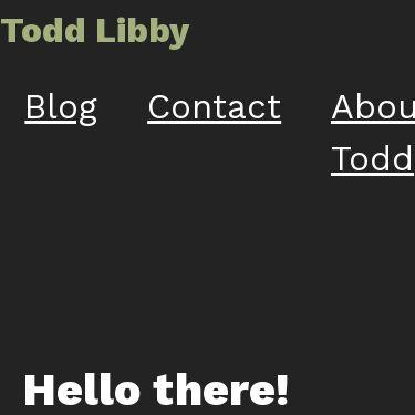 Screenshot of https://toddl.dev