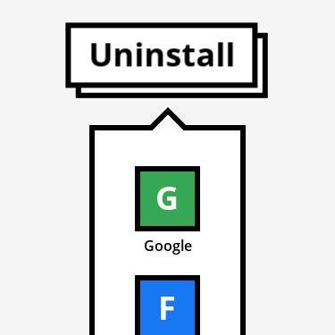 Screenshot of https://uninstall.tech/