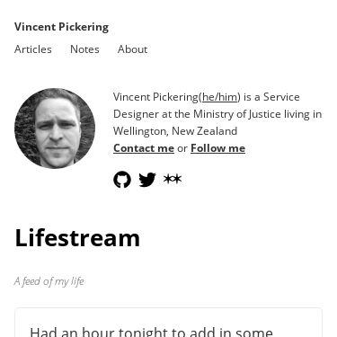 Screenshot of https://vincentp.me