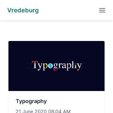 Screenshot of https://vredeburg.netlify.app/