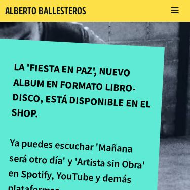 Screenshot of https://www.albertoballesteros.com/