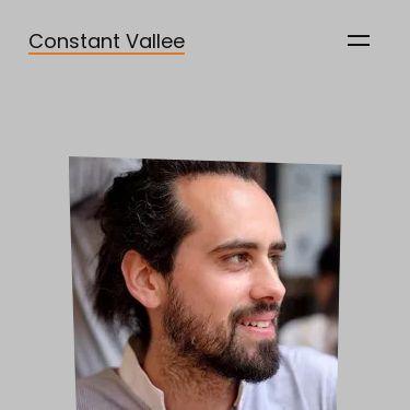 Screenshot of https://www.constantvallee.dev/
