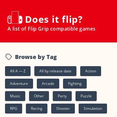 Screenshot of https://www.doesitflip.com/