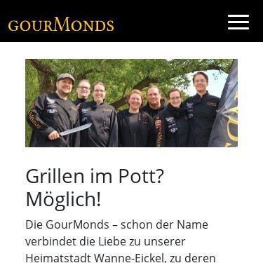 Screenshot of https://www.gourmonds.de/