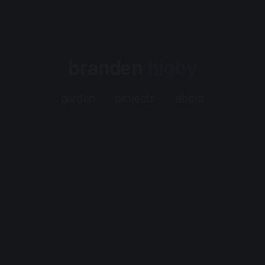 Screenshot of https://www.higby.io/