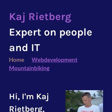 Screenshot of https://www.kajrietberg.nl/