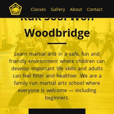 Screenshot of https://www.kuksoolwonwoodbridge.co.uk/