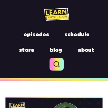Screenshot of https://www.learnwithjason.dev/lets-learn-eleventy