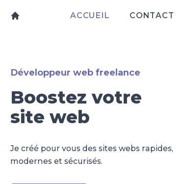 Screenshot of https://www.marcfilleul.fr/