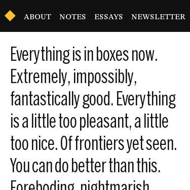 Screenshot of https://www.robinrendle.com/