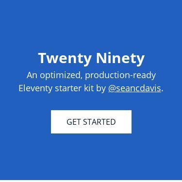 Screenshot of https://www.seancdavis.com/twenty-ninety