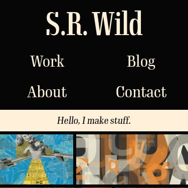 Screenshot of https://www.srwild.com/
