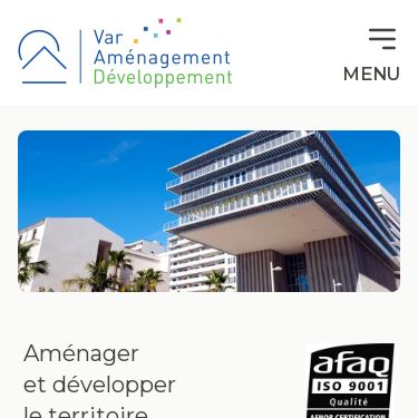 Screenshot of https://www.var-amenagement-developpement.fr/
