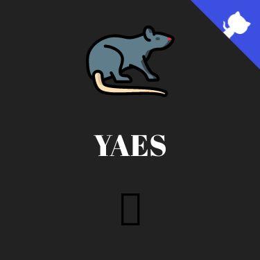 Screenshot of https://yaes.netlify.app/