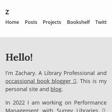 Screenshot of https://zacharyparsons.co.uk/